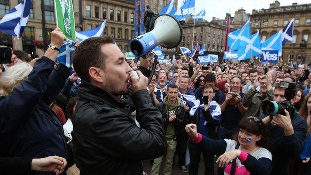Final push in Scottish referendum