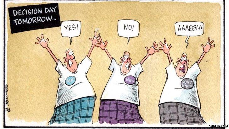 Herald caartoon