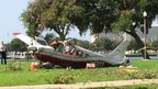 Small plane made an emergency landing at Vinoy Park in St Petersburg