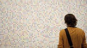 Damien Hirst's dots