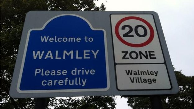 Walmley village sign