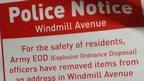 Police leaflet
