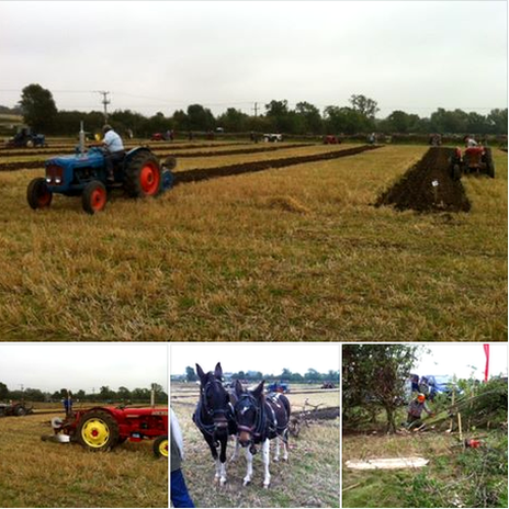 West Hallam Ploughing in 2014