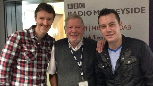 Billy Butler with Nathan Carter and John Pettifer