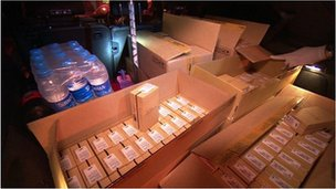 Mobile phones seized during dawn raids across London