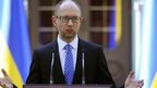 File photo: Ukraine's Prime Minister Arseny Yatseniuk speaks to the media in Kiev, 31 July 2014