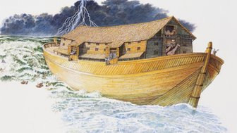 Illustration of an ark