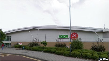 Asda in Wembley