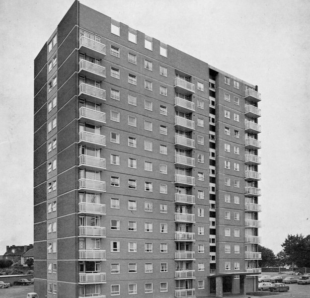 Bolton Court pictured in 1965