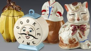 Cookie jars previously owned by Andy Warhol
