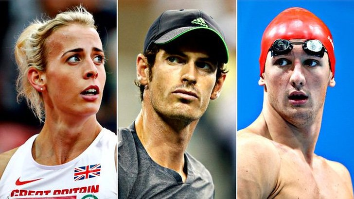Lynsey Sharp, Andy Murray, Michael Jamieson