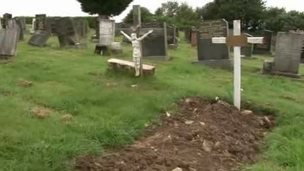 Unmarked grave