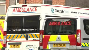 Arriva vehicle