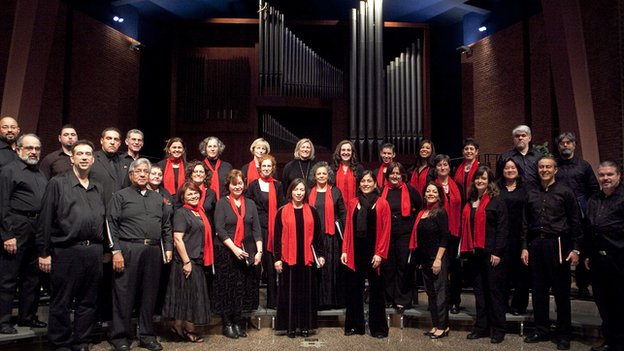 Coral Cantigas, Washington's premiere Latino chorus,