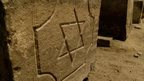 A Jewish tombstone in Egypt