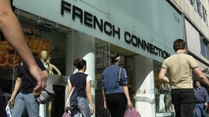 A French Connection store front