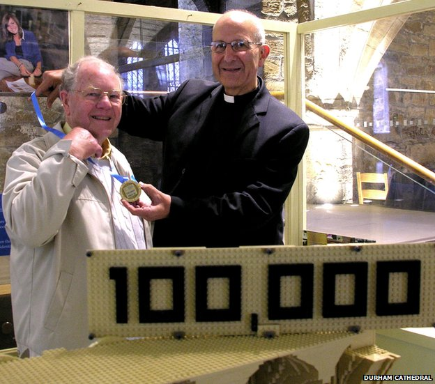 100,000th lego brick laid