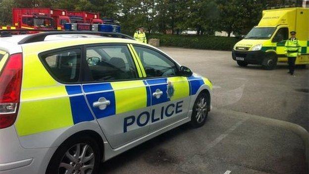 Mock emergency in Liverpool