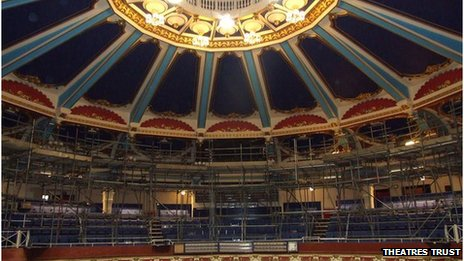 Theatres Trust 'at risk' theatres list