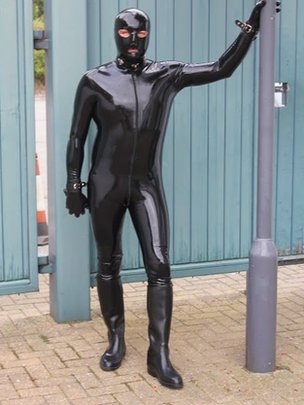 Gimp Man of Essex  aiming to spark debate while fundraisingGimp Man