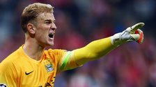 Joe Hart v Bayern Munich