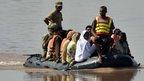 Kashmir rescue boat