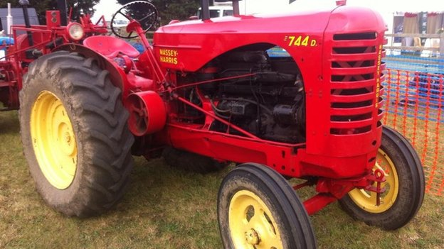 Tractor at Thame Show