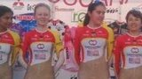 Colombian cycling team