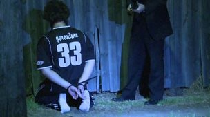 Terror suspect under arrest in Sydney (18 September 2014)