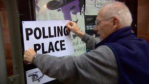 Voting begins for the Scottish independence referendum
