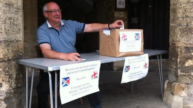 Referendum in Burford