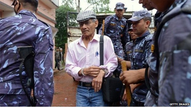 Nepal court convicts 'Bikini killer' Charles Sobhraj of second murder