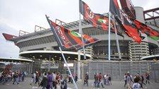 Milan's San Siro stadium
