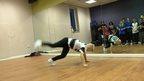 Dylan Pilgrim dancing