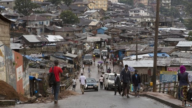 Freetown Sierra Leone (18 September 2014)