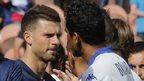Six-month headbutt ban for Brazilian