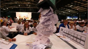 Ballot boxes opened in Aberdeen