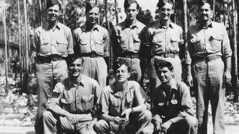 Warrant Officer Stan Kearey and his crew