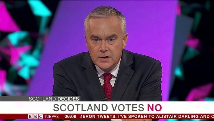 Scotland votes No