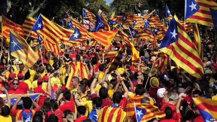 Catalan campaigners