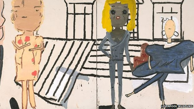 Rose Wylie's entry