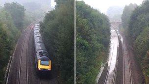 Stuck train