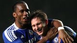 Didier Drogba and Frank Lampard