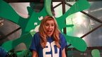 Newsround's Jenny getting gunged