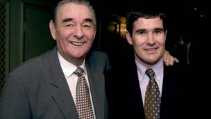Brian and Nigel Clough