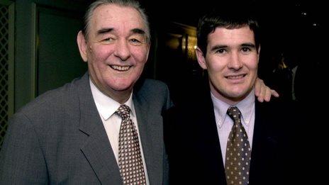 Brian and Nigel Clough