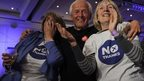 Better Together supporters celebrate