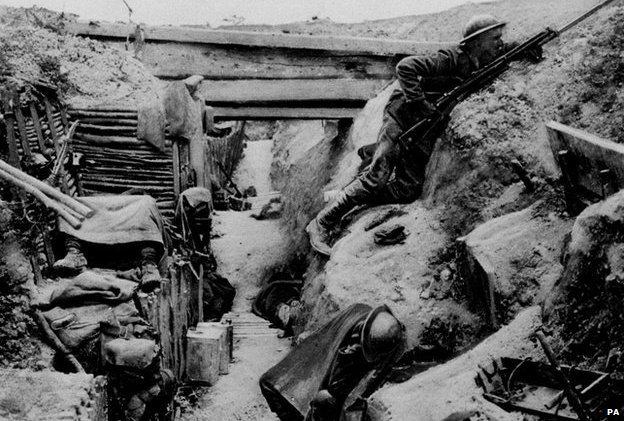 The significance of trench warfare in world war i