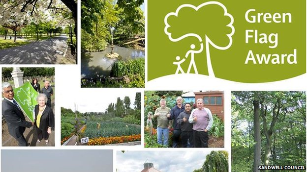 A selection of pictures of Sandwell parks
