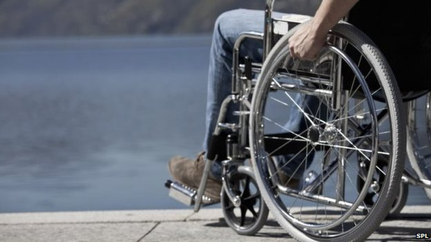 Wheelchair user